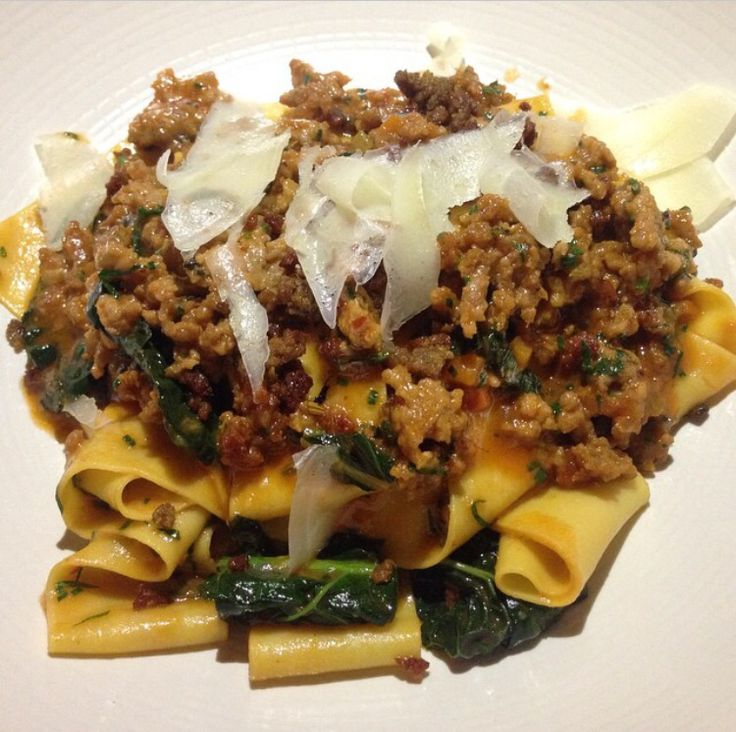Upland NYC  345 Park Avenue South New York NY, 10010  Pappardelle Pasta