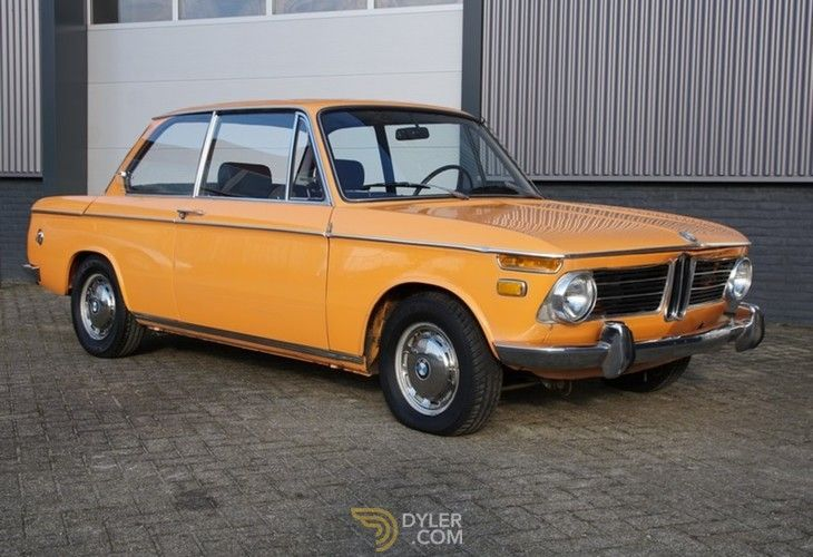 Bmw 2002 Coupe 1969 Orange Car For Sale 208184 Bmw Classic Cars Bmw 2002 Classic Cars
