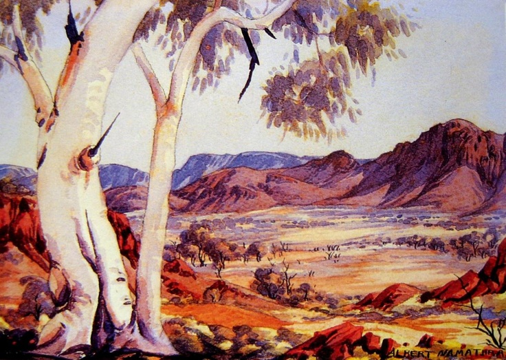 artrecord.com Works on Paper - Albert Namatjira - Page 16 - Australian Art Auction Records