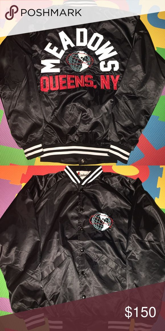 THE MEADOWS BOMBER JACKET SIZE SMALL From the music festival THE MEADOWS. Never worn. Excellent condition. Jackets & Coats Bomber & Varsity