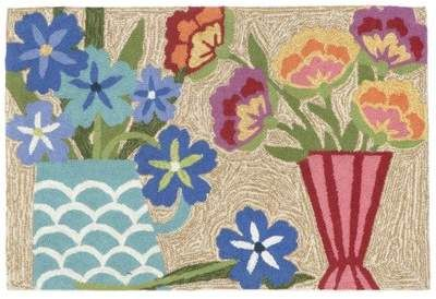 August Grove Ismay Still Life Multi Indoor/Outdoor Area Rug August Grove