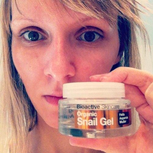 An organic snail gel!
