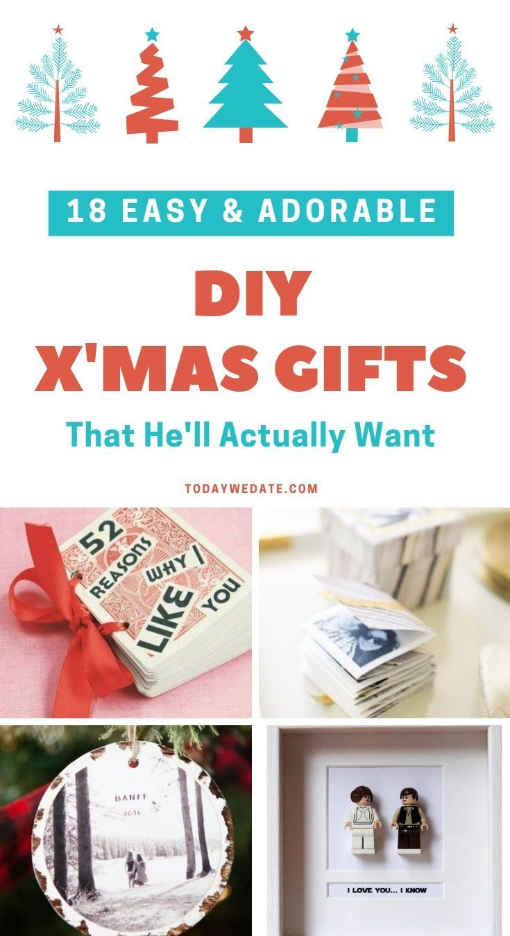 18 Super Sweet Easy Diy Christmas Gifts For Him Gift Ideas