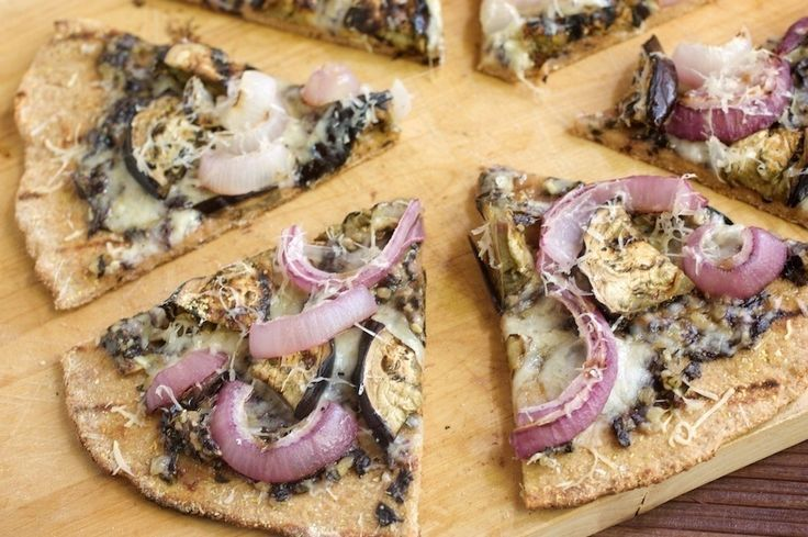 Grilled Purple Pizza