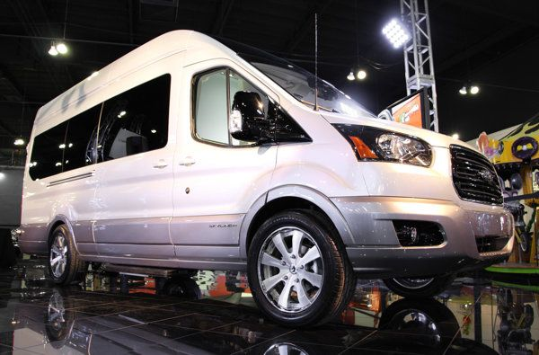 Ford Transit Skyliner concept revives the ultra-luxury van   Motoramic - Yahoo Autos