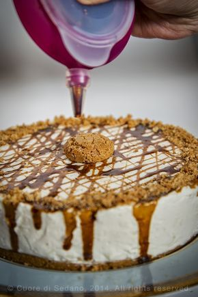 Torta fredda allo yogurt e amaretto, #fruit,