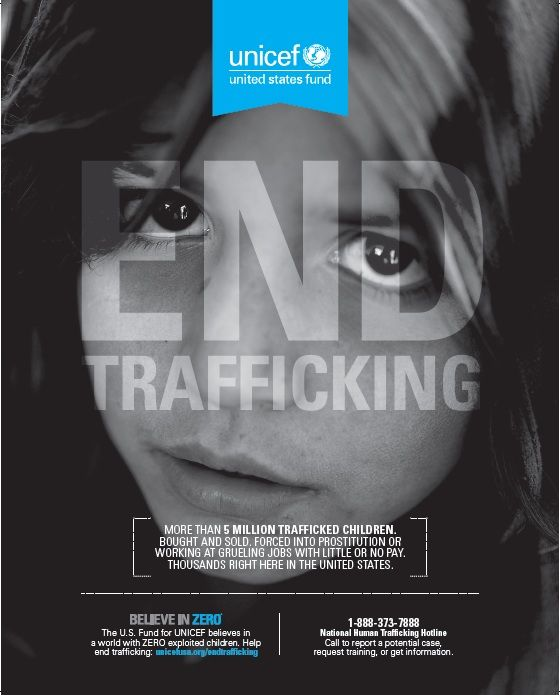 Unicef | End Trafficking Campaign | Image 1 of 4