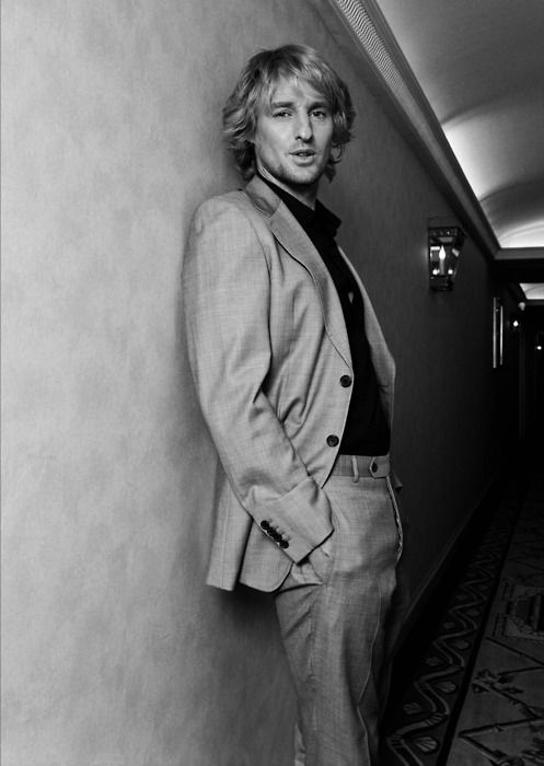 Owen Wilson.  Even with the broken nose-I mean really, it's okay to get it fixed!-Owen has a certain sex appeal...