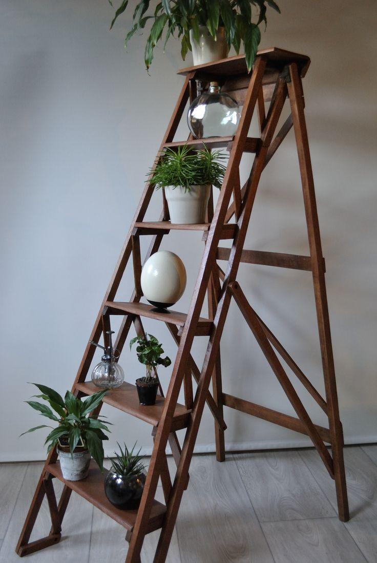 25 best escabeau bois ideas on pinterest escabeau echelle en bois d co and echelle escabeau. Black Bedroom Furniture Sets. Home Design Ideas