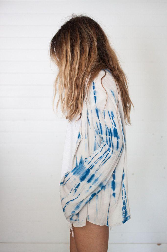 jimi tie dye tunic // ascotandhart.com