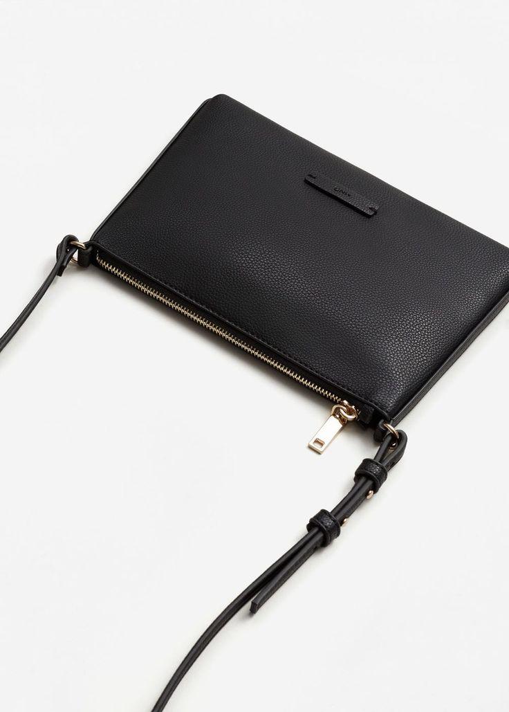 Carteira cruzada  (preto): MANGO (15,99€) ✓