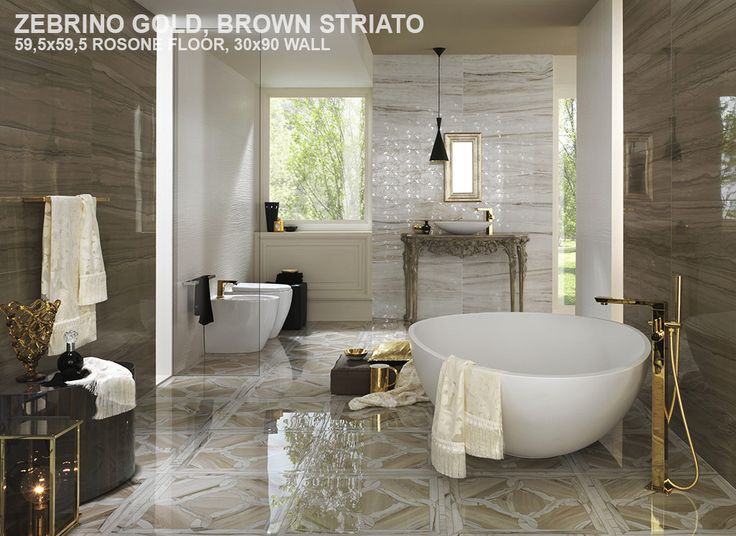 brown striato & zebrino gold – Tile & Stone Gallery