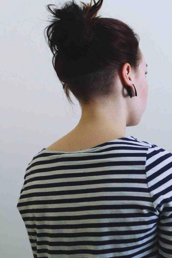 Rasierte Ruckseite Des Kopfes Frisuren Fur Frauen Trend Frisur Und
