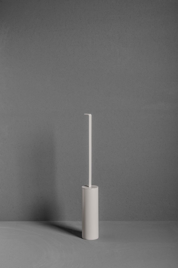 Floorstanding toilet brush from the TYPE collection.