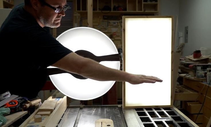 how to make an LED light panel