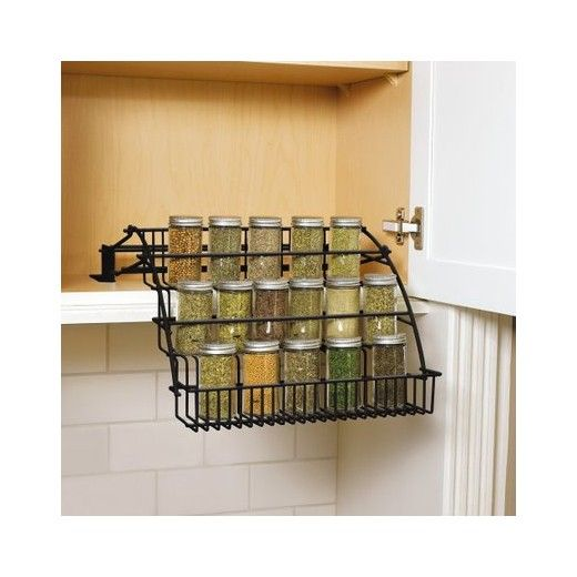 Under Cabinet Drop Down Shelf Hardware: 25+ Best Ideas About Pull Down Spice Rack On Pinterest