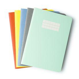 papelote klasika Notizheft A5 / Notebook A5 | Blanko, gelb / Plain, yellow | Artikelnummer: gelb-blanko