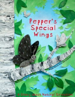 """Pepper's Special Wings - Pepper's Special Wings"""" shows children aged 4-7 how Charles Darwin's evolutionary theory of natural selection works, using easy words and colorful pictures they can understand, but based on an actual scientific case study."""