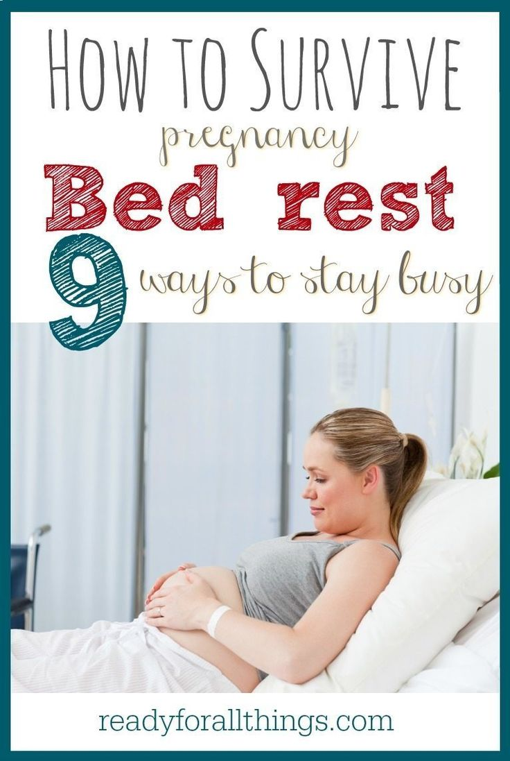 Waiting for your baby to arrive when you're on bed rest can feel like an eternity. Here are the best survival tips brought to you by a mom who spent ten weeks on hospital bed rest during her twin pregnancy. #9 is especially important!