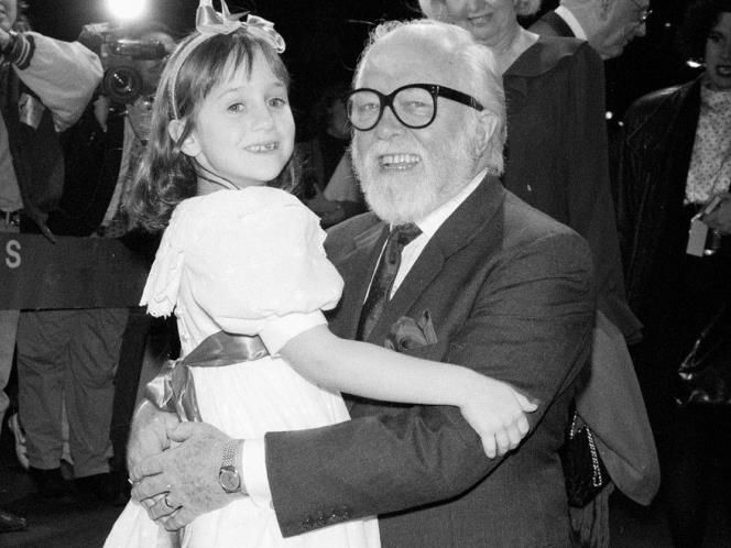 Mara Wilson has paid tribute to Attenborough: the two worked together on the 1994 film Miracle on 34th Street. On Twitter, the former actress wrote: 'Richard Attenborough was the only Santa Claus I ever believed in. A wonderful man. Still in shock right now. May he rest in peace. I knew he had lived a good long life and wasn't in the best of health, but it still comes as a shock and I'm still sad.'
