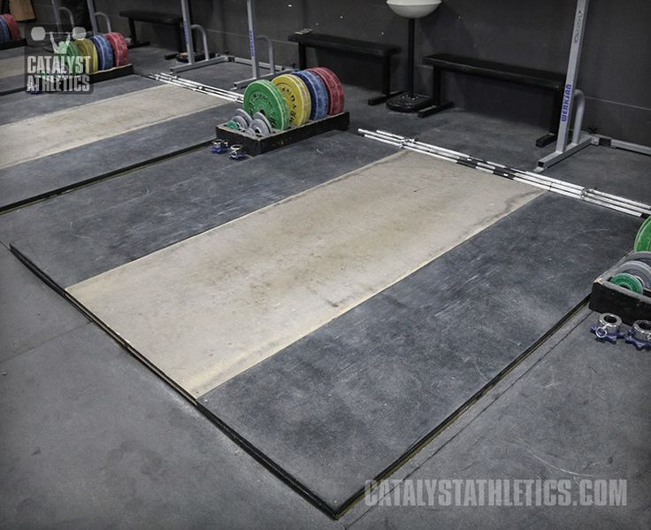 How to build a weightlifting platform by greg everett