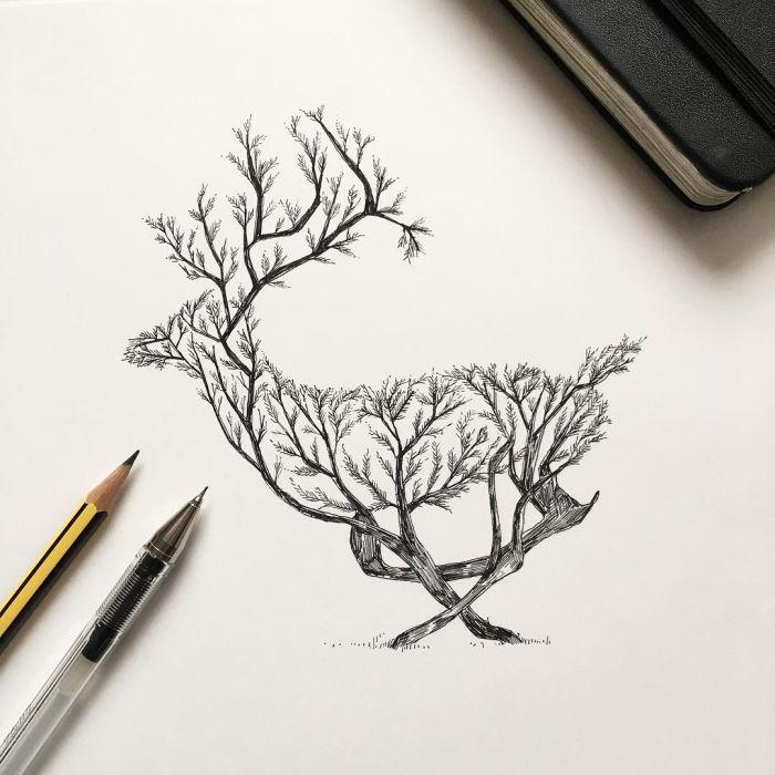 1001 Ideen Und Inspirationen Fur Schone Bilder Zum Nachmalen Bilder Zum Nachmalen Bilder Selber Malen Schone Bilder Zeichnen