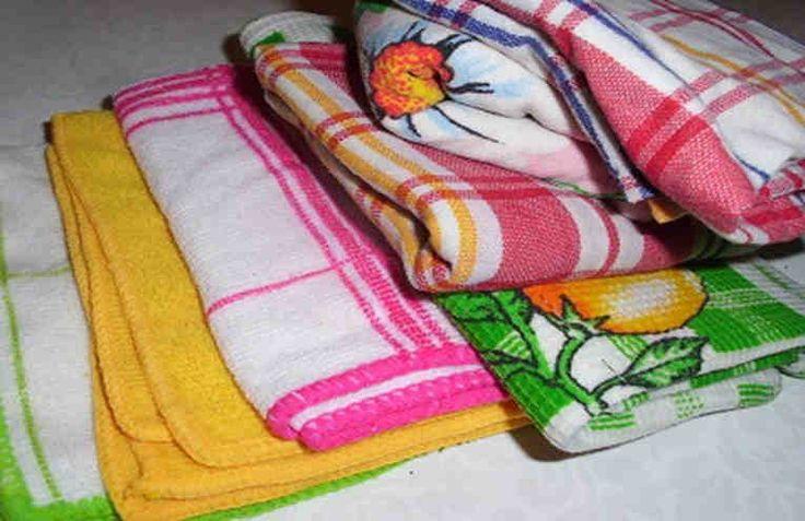 Как отстирать кухонные полотенца и салфетки?   Naget.Ru