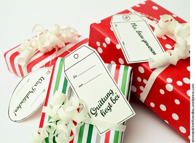 Geschenkanhänger-Printable