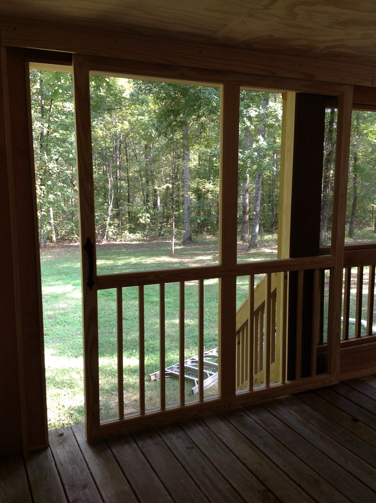 Patio Or Screened Porch: Best 25+ Sliding Screen Doors Ideas On Pinterest
