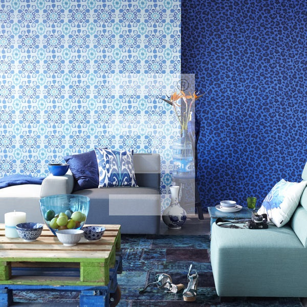 Blue Ibiza collection by Eijffinger