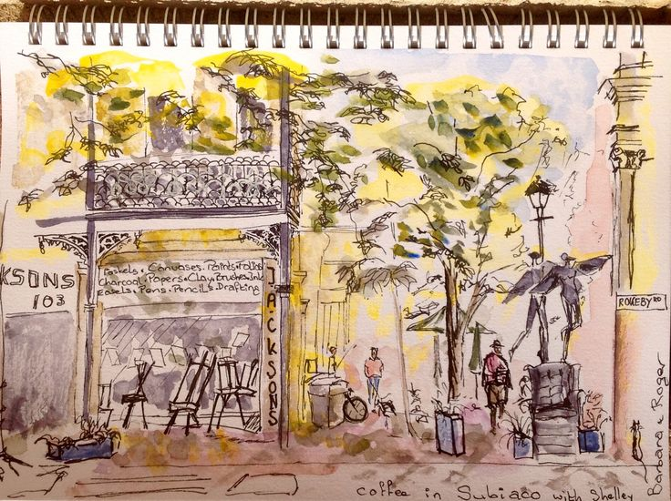 Subiaco sketch out