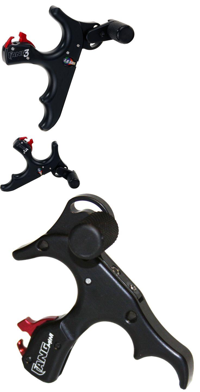 Release Aids 181303: Tru Ball Archery Release 3 Finger Fang 3 Mini Black Tfg3-Mn-Bk -> BUY IT NOW ONLY: $78 on eBay!