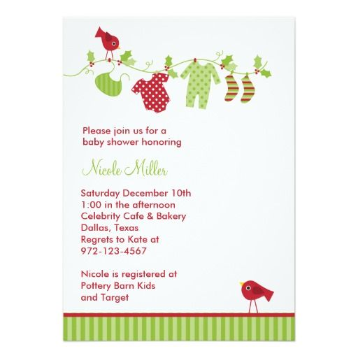 346 best holiday baby shower invitations images on pinterest christmas baby laundry invitations stopboris Image collections