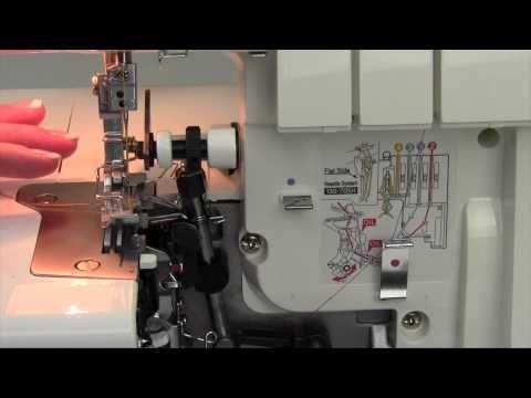 Bernina 800DL Serger 19 2-Thread Rolled Hem