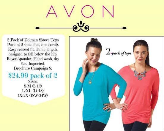 Relaxed fit and would go great with leggings Visit www.youravon.com/tcorder #AvonMakeup