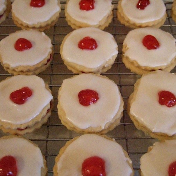 """Empire Biscuits I """"Absolutely delicious! The cookies just melt in your mouth. My kids loved them."""""""