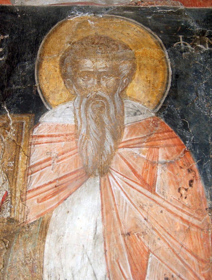 """Светец от църквата """"Свети Петър и Павел"""", Търново, 14 век"""