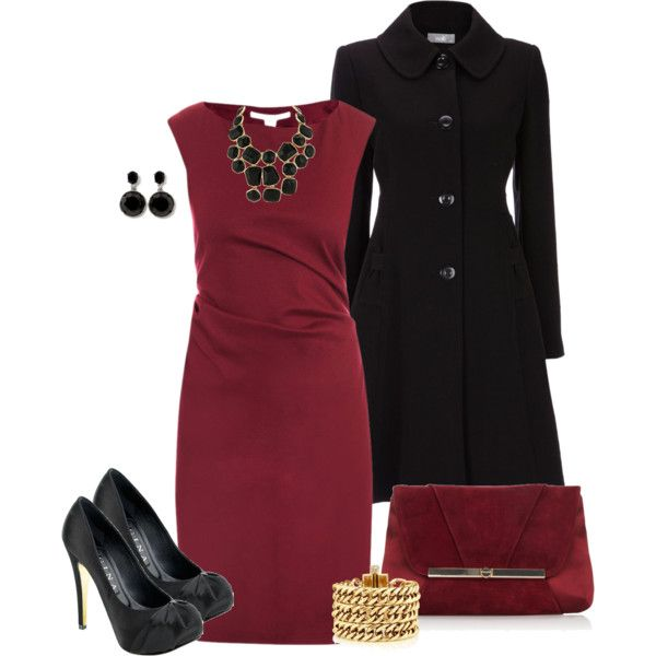 Red Dress, created by averbeek on Polyvore