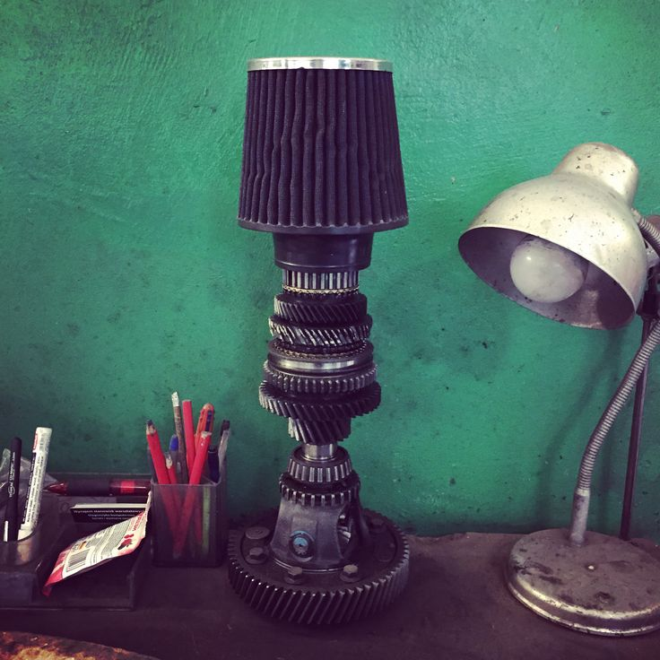 Lamp in our workshop