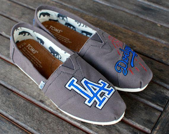 LA Dodgers TOMS Shoes