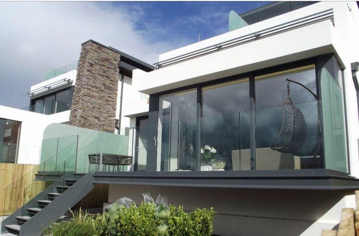 Terrasse Suspendue Acier : Terrasse garde corps verre Mon jardin de r u00eave