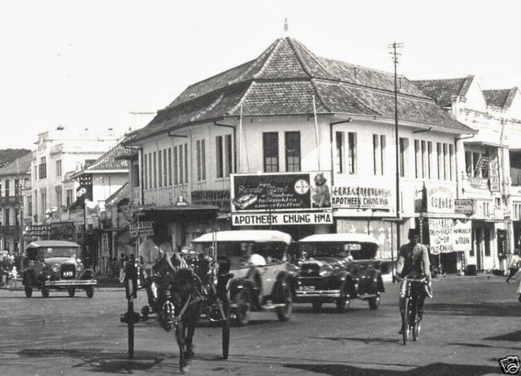 Apotheek Chung Wha, Glodok Batavia 1930