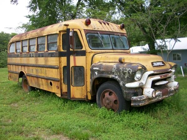 1956 GMC School Bus