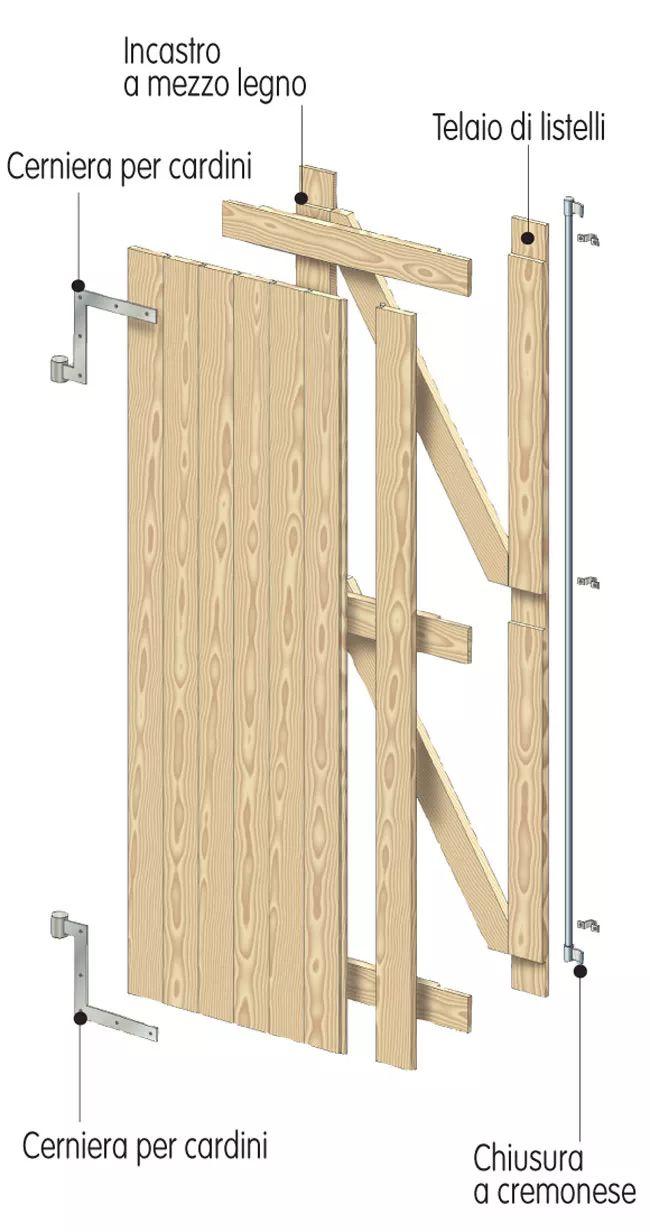 disegno finestra di legno