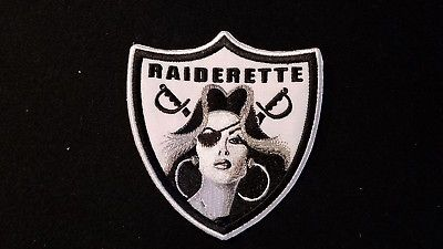 Oakland raiders patches.. RNFL.. raider nation RAIDERETTE..