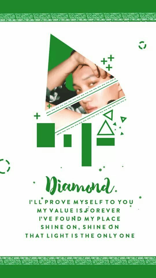 EXO COMEBACK 2017 WALLPAPER | #EXO #COMEBACK #July2017 | Kai Wallpaper | #카이 #엑소 #lyrics #Diamond cre: HDHE