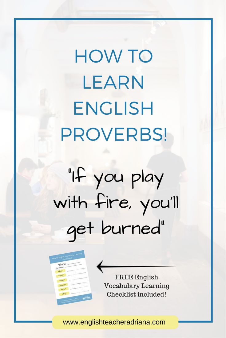 English Proverbs, Learn English Proverbs, English Proverbs for English Fluency, English Vocabulary, Speak English Fluently, English Words, English Fluency, Natural English, Free English, Free Live English Lesson, English Teacher, Learn English, English is fun, IELTS, TOEIC, TOEFL
