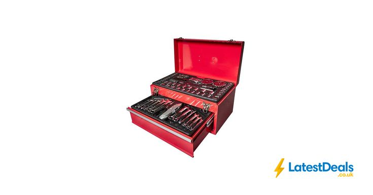 Top Tech 150pc Tool Box with Tools Free Delivery, £34.99 at Euro Car Parts