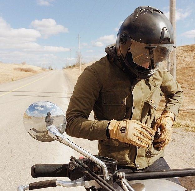 Vanson Stormer Waxed Canvas Jacket - Jackets - Riding Gear | Town Moto