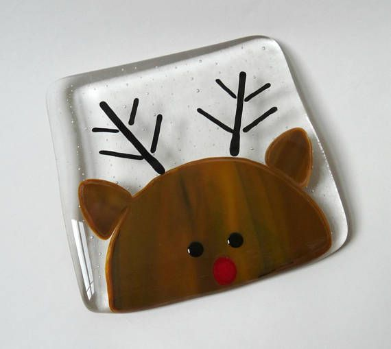Hey, I found this really awesome Etsy listing at https://www.etsy.com/uk/listing/544345827/rudolph-coaster-fused-glass-mat